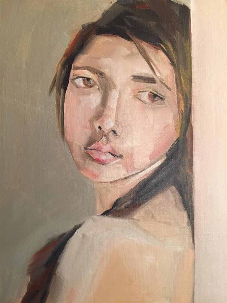 """439 She Will"" original fine art by Jenny Doh"