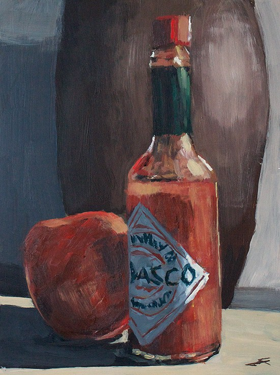 """'BASCO"" original fine art by J. Farnsworth"