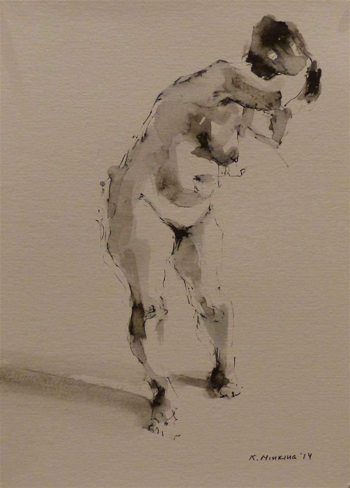 """nude9"" original fine art by Katya Minkina"