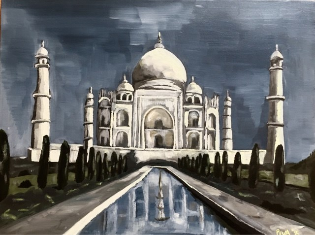 """Love Actually"" original fine art by Piya Samant"