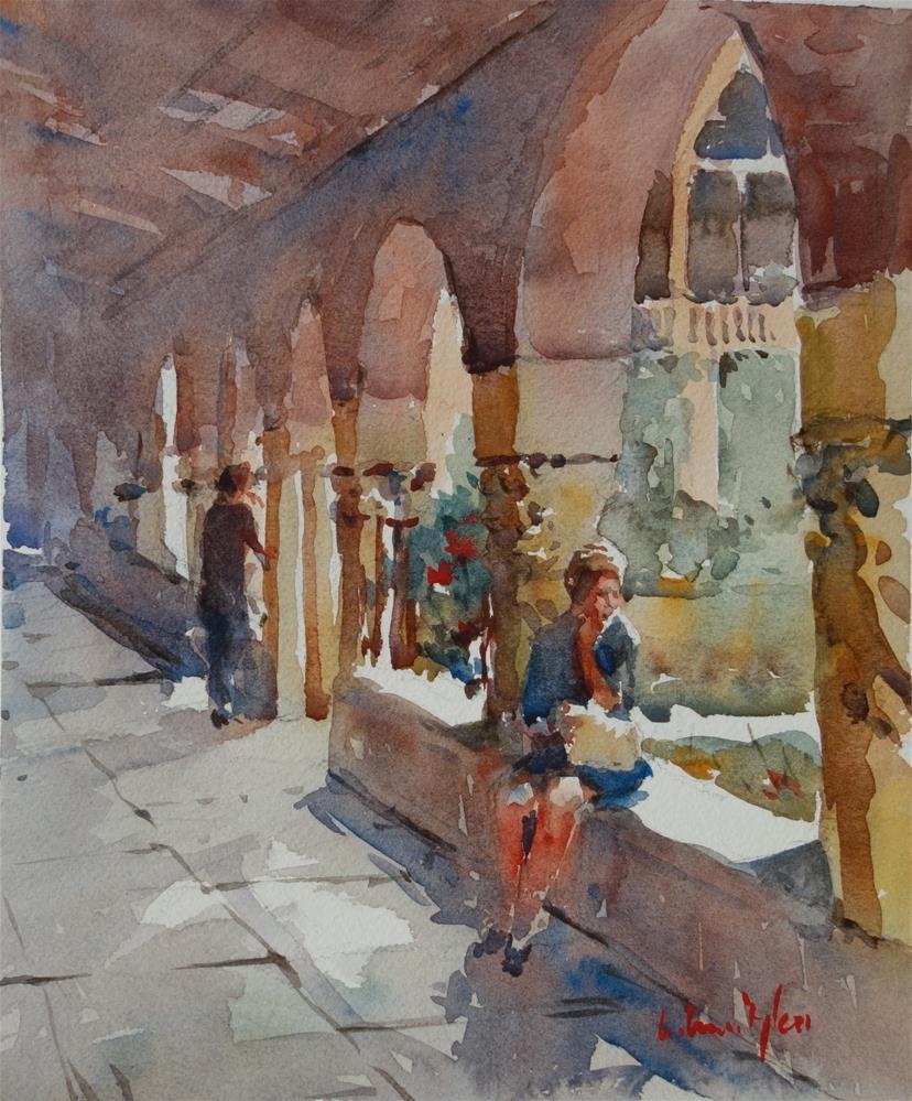 """""""Sheltered"""" original fine art by Lorraine Lewitzka"""