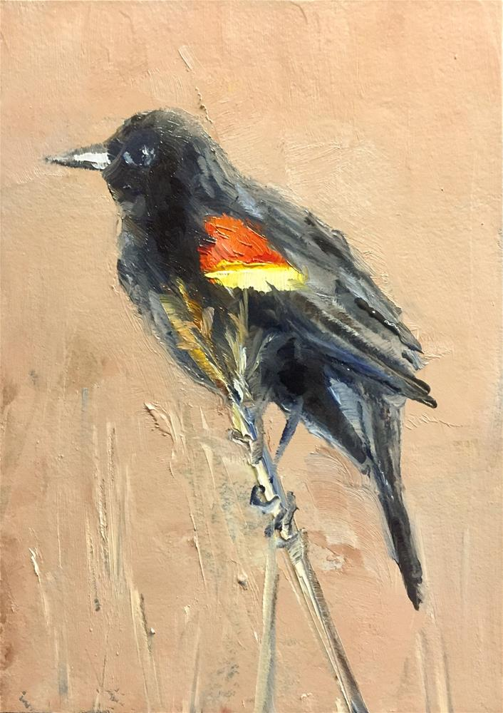 """""""Spring Sentinel"""" original fine art by Gary Bruton"""