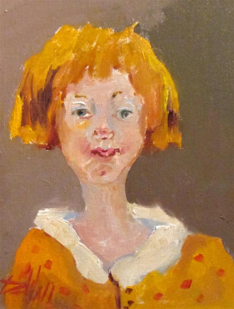 """Girl"" original fine art by Delilah Smith"