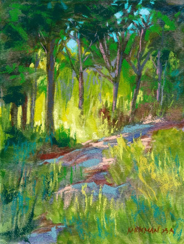 """""""Park Trail #31"""" original fine art by Rita Kirkman"""
