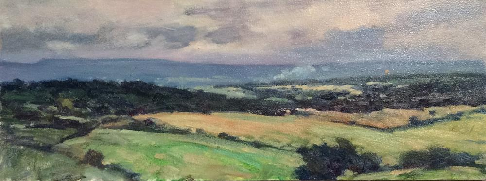 """Across the Dales"" original fine art by John Shave"