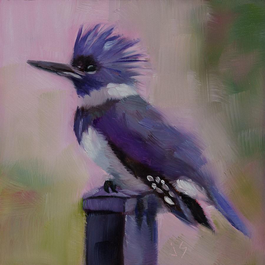 """""""Wet and Wild"""" original fine art by Johnna Schelling"""