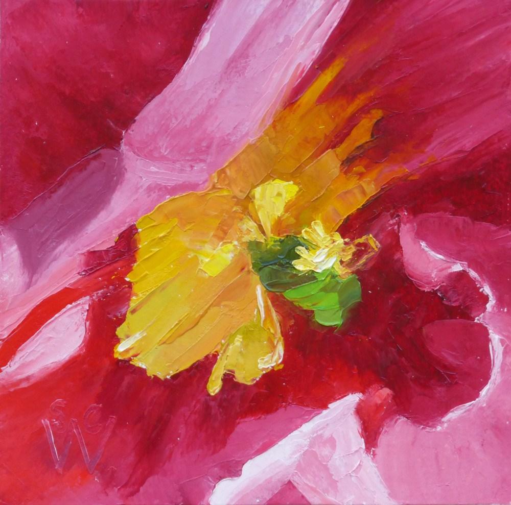 """Awakening"" original fine art by Susan Woodward"