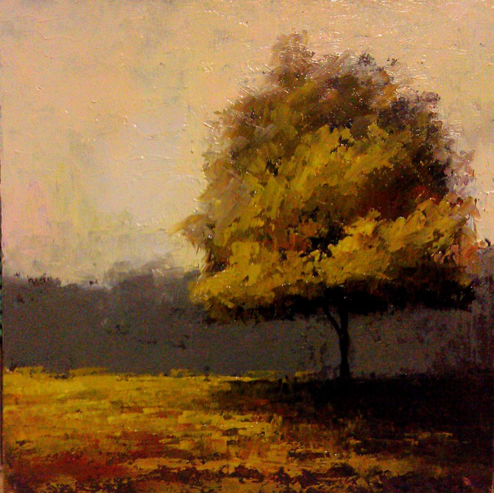 """A Shade Tree in the Park"" original fine art by Bob Kimball"