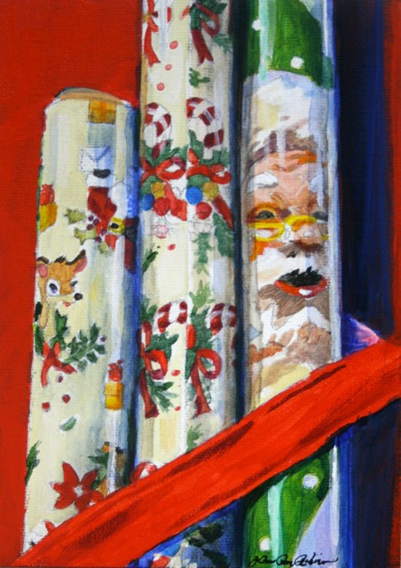 """Get Ready to Roll"" original fine art by JoAnne Perez Robinson"