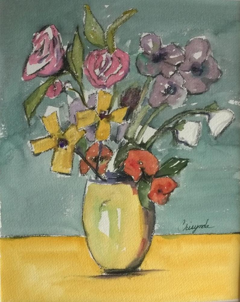 """An arrangement"" original fine art by Crisynda Buss"