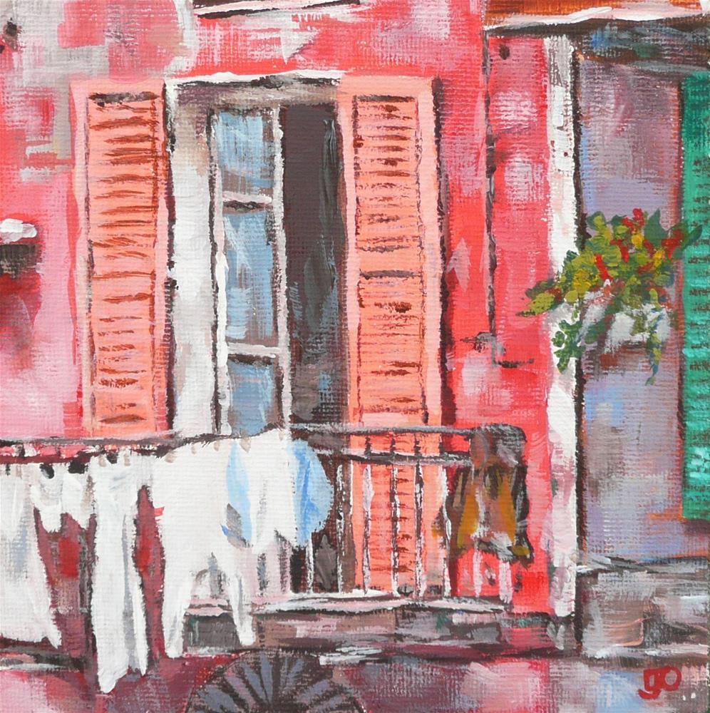 """""""Nearly Dry"""" original fine art by Leanne Owen"""