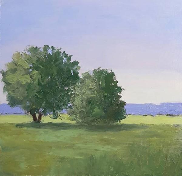 """Still Morning"" original fine art by Karen Johnston"