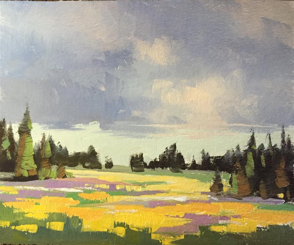"""Spring Flowers at Cedar Breaks 2"" original fine art by Mary Jabens"