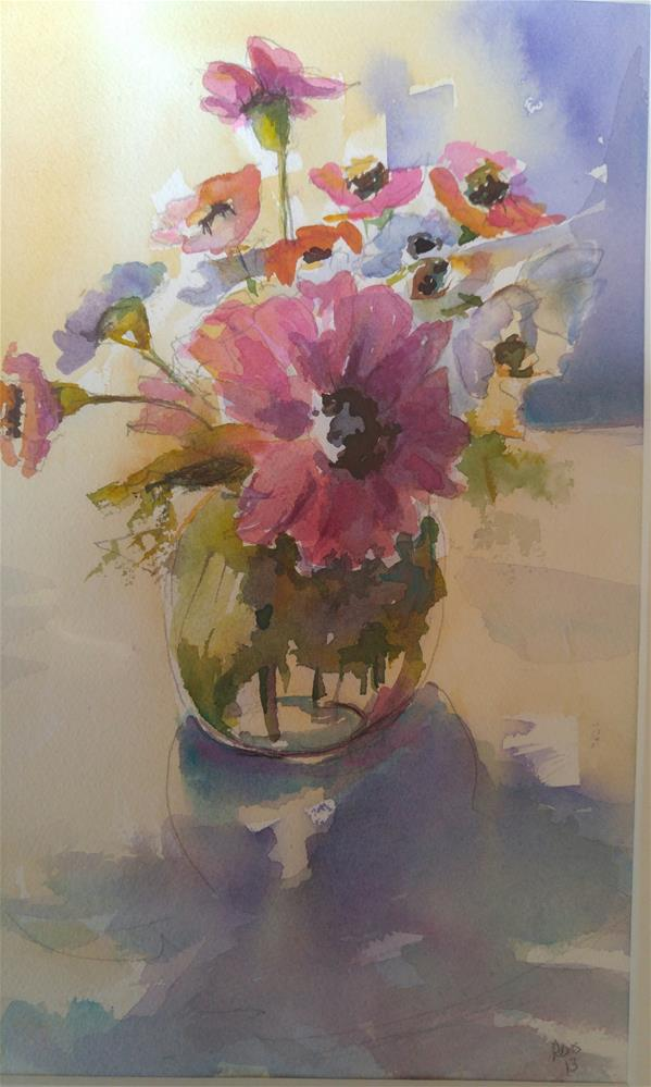 """Winter Bouquet"" original fine art by angela scully"