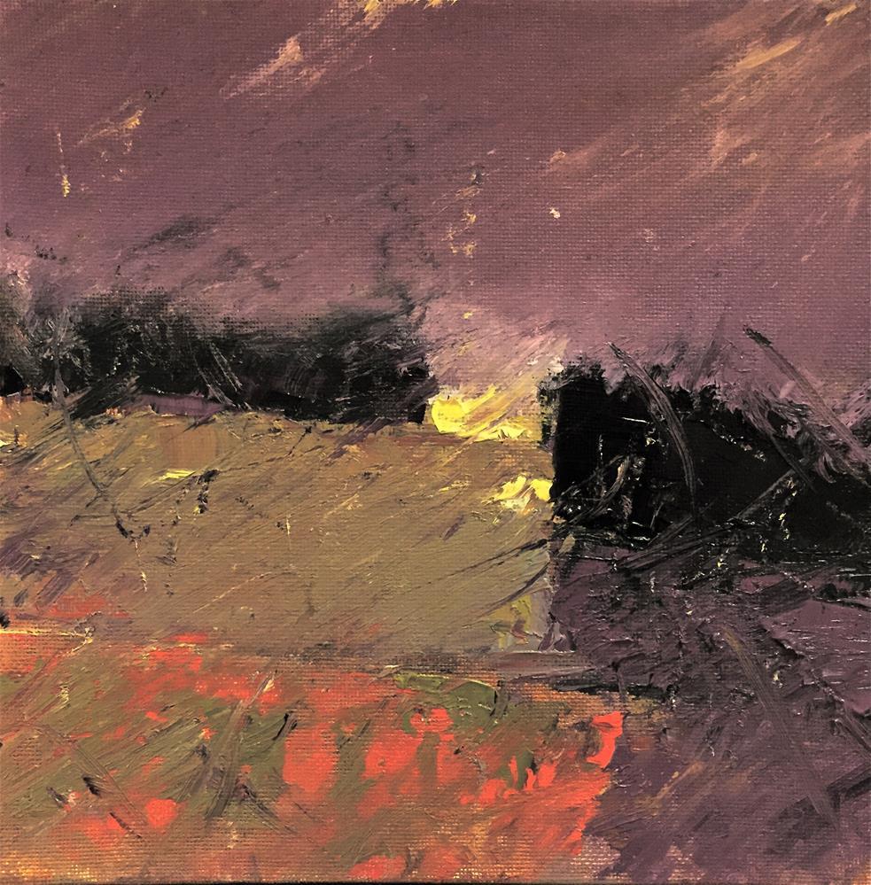 """0894/DPW"" original fine art by Dennis Pearson"