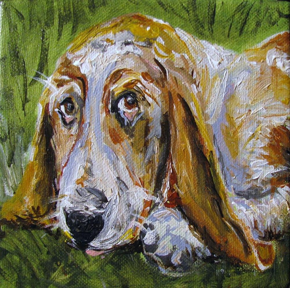 """Daisy Mae"" original fine art by Susan Elizabeth Jones"