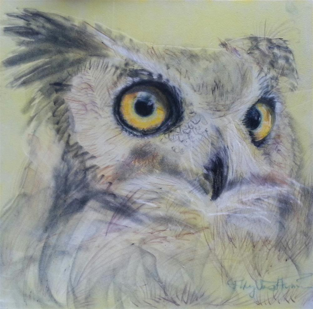 """Lowell"" original fine art by Phyllisha Hamrick"