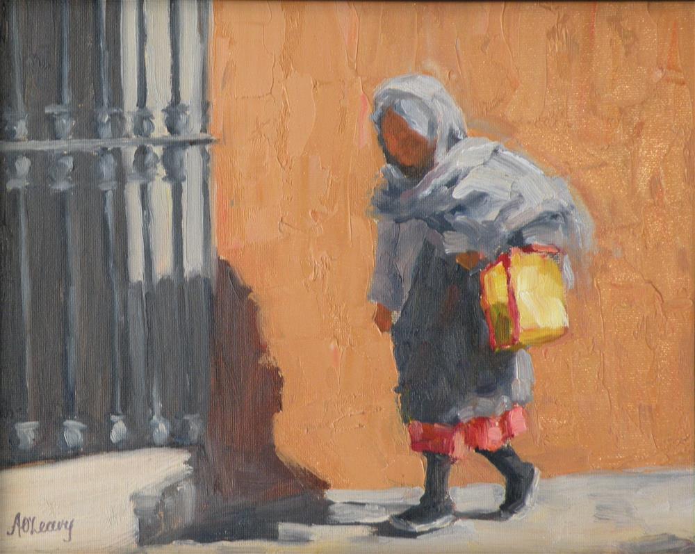 """""""Abuella"""" original fine art by Alice O'Leary"""