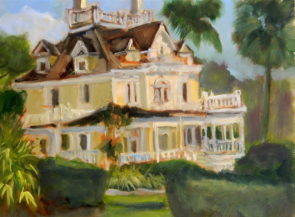 """""""The Burroughs Mansion"""" original fine art by Sharon Yarbrough"""