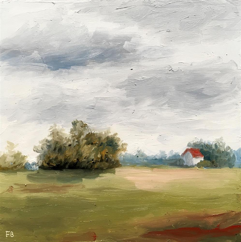"""217 Land"" original fine art by Fred Bell"