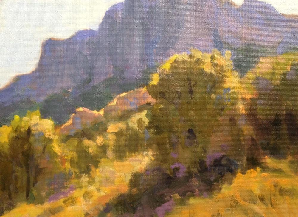"""Morning Chisos"" original fine art by David Forks"