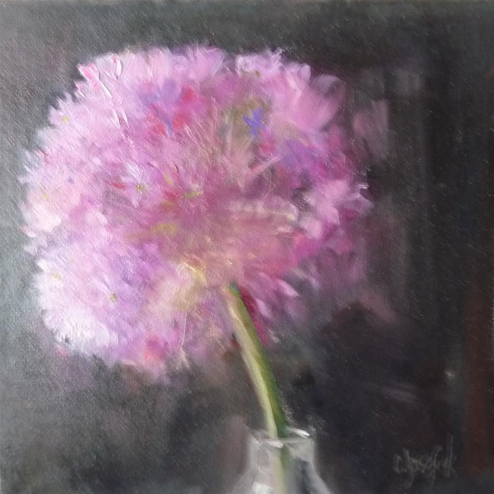 """""""Allium"""" original fine art by Carol Josefiak"""
