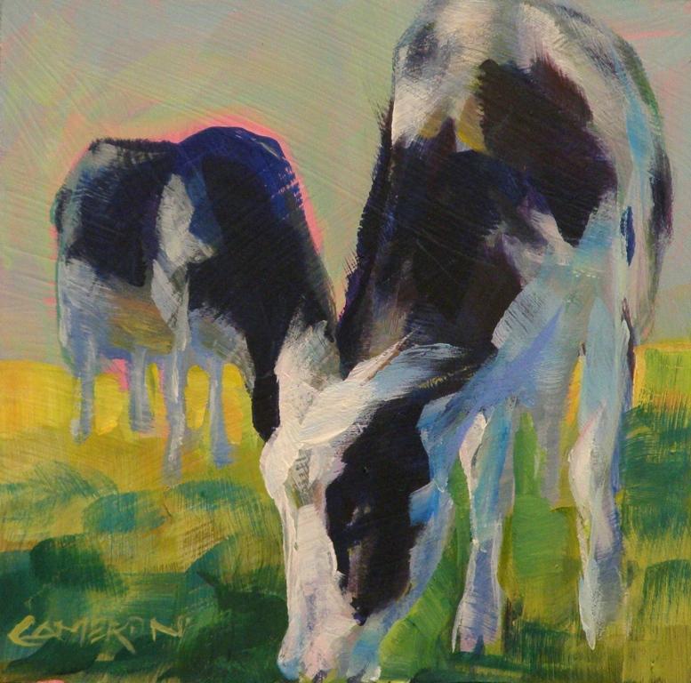 """""""Cow Spotting"""" original fine art by Brian Cameron"""