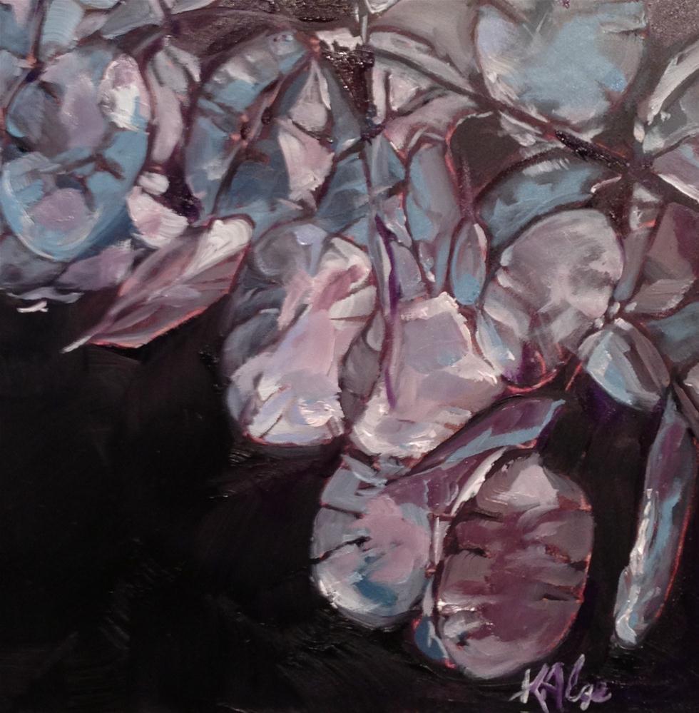 """""""Money Plants 2"""" original fine art by Kelly Alge"""