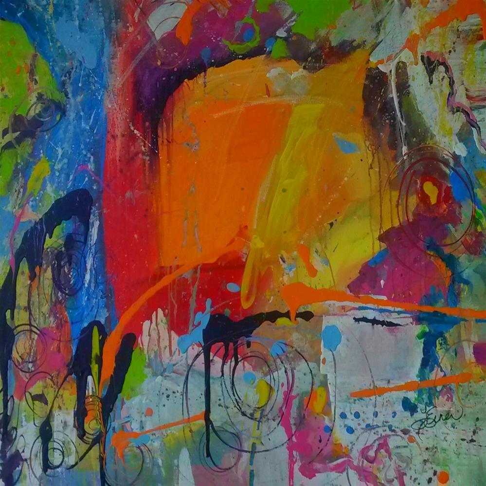 """Feeling Melancholy"" original fine art by Terri Einer"