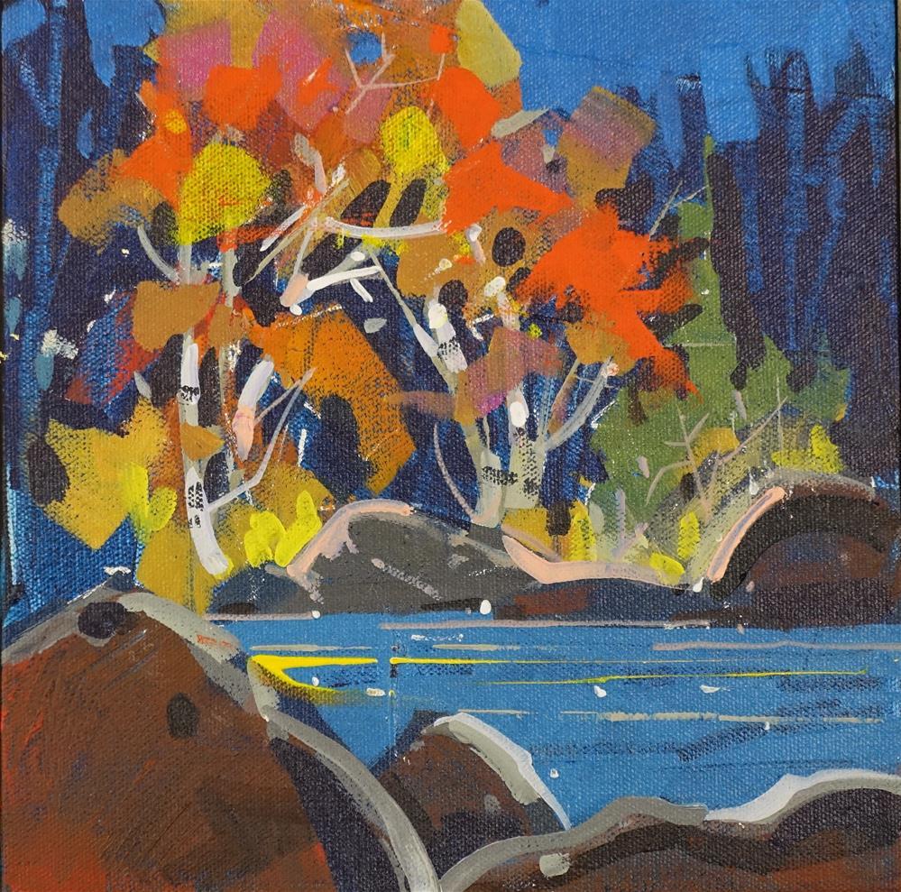 """""""Autumn Punch"""" original fine art by Brian Buckrell"""