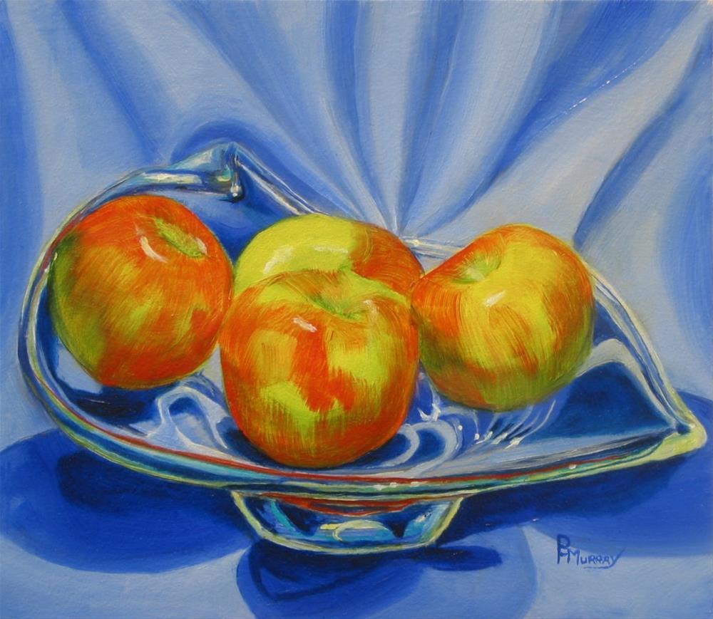 """""""Apple Quad"""" original fine art by Patricia Murray"""