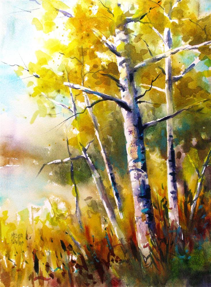 """""""Color Crescendo"""" original fine art by Melissa Gannon"""