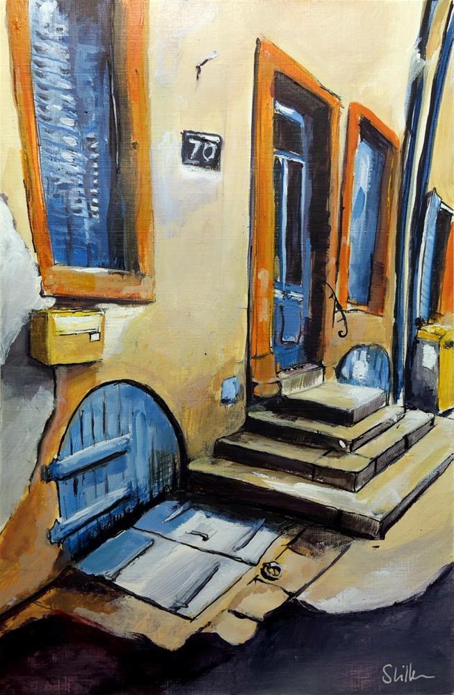 """""""3212 Frenchland 08"""" original fine art by Dietmar Stiller"""