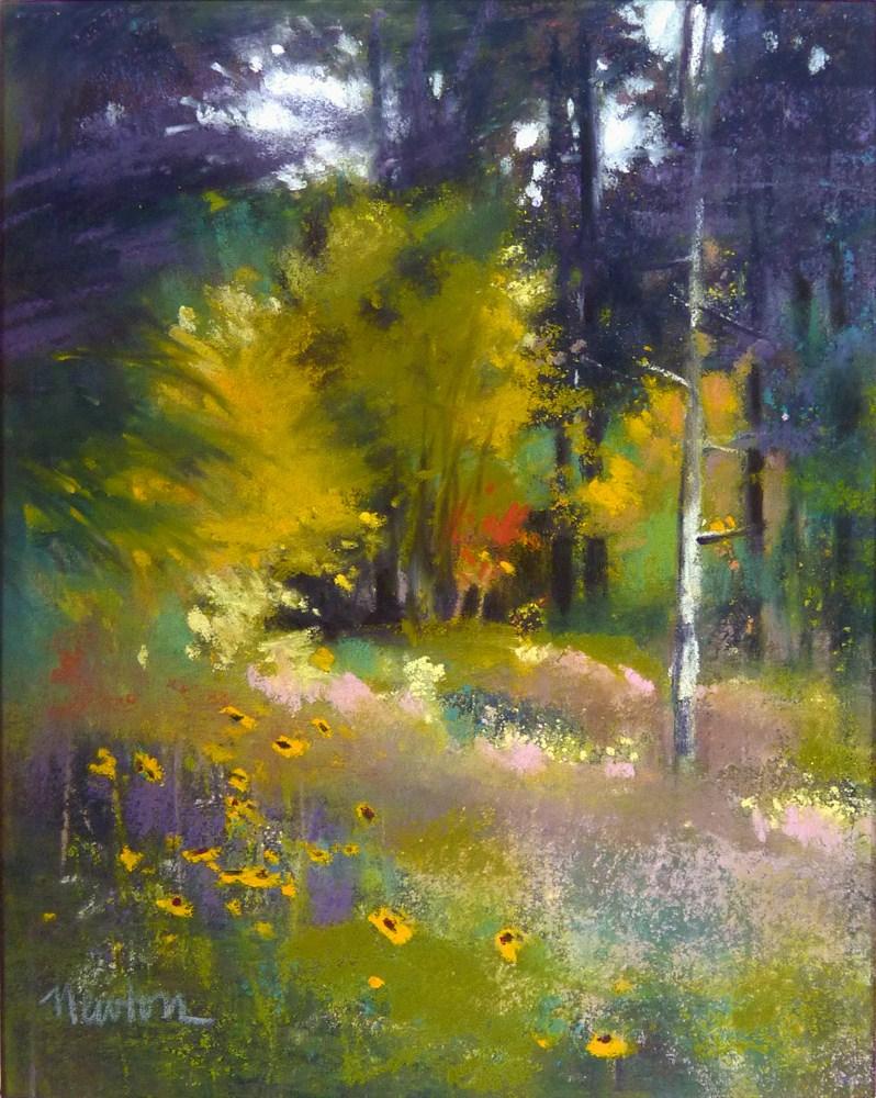 """""""Study for Last Light"""" original fine art by Barbara Benedetti Newton"""