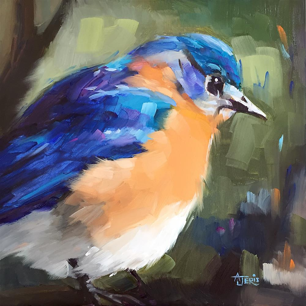 """Bluebird"" original fine art by Andrea Jeris"