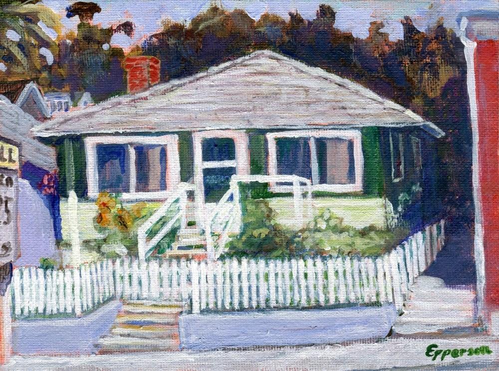 """Yesterday"" original fine art by Stanley Epperson"