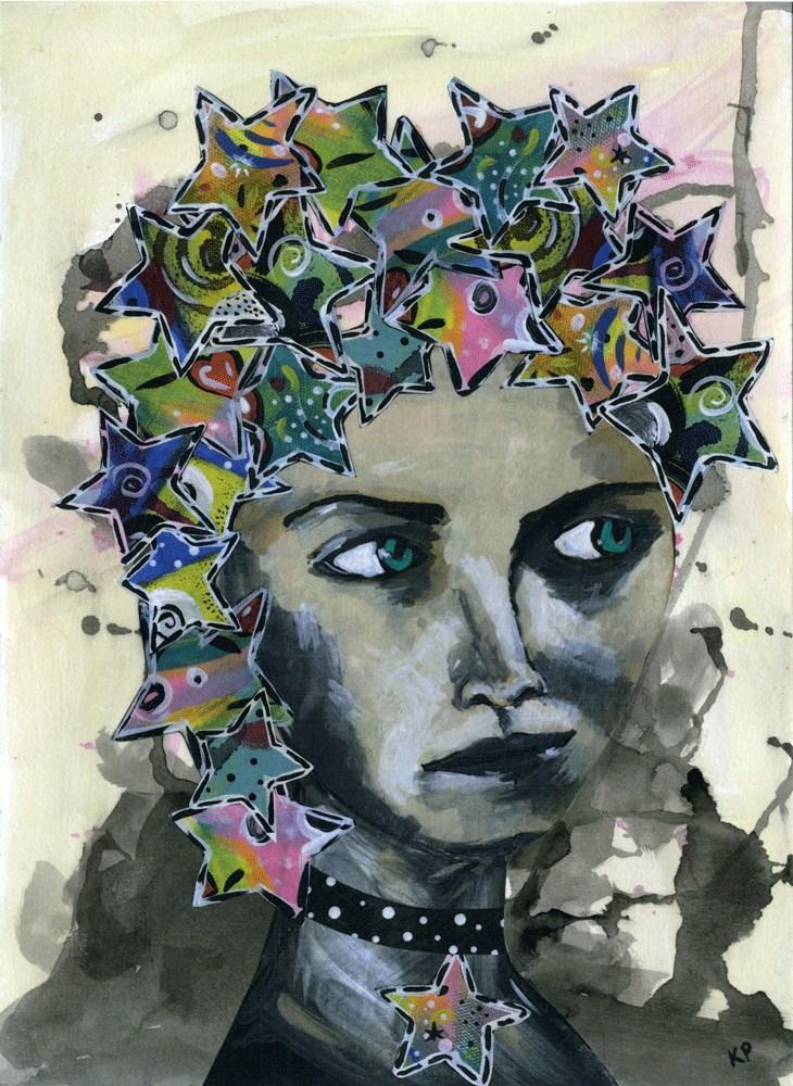 """Celestial Queen"" original fine art by Kali Parsons"