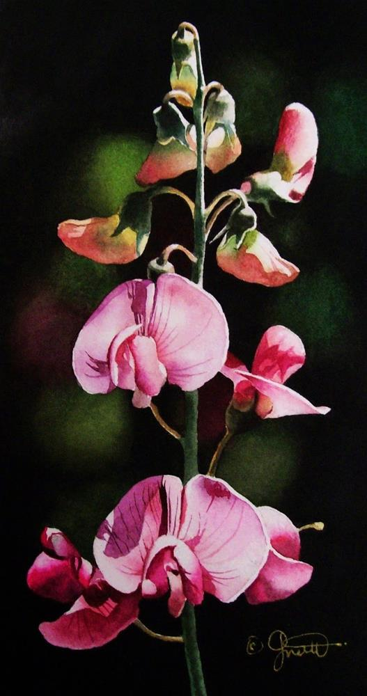 """Thirty Paintings in Thirty Days ~ Day Eight"" original fine art by Jacqueline Gnott, TWSA, WHS"