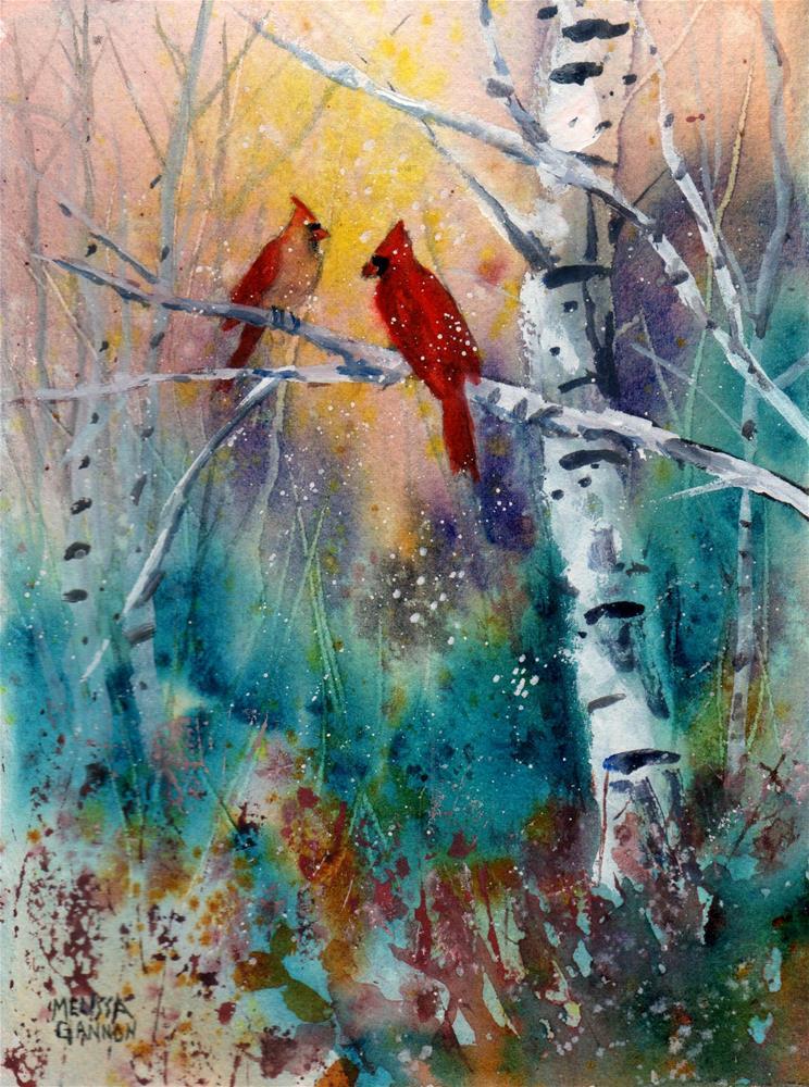"""""""First Snow"""" original fine art by Melissa Gannon"""