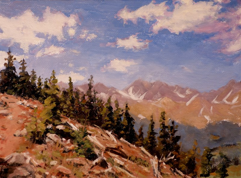 """Colorado Dreaming"" original fine art by Daniel Fishback"