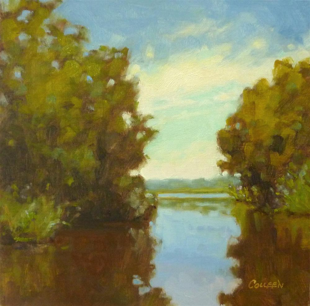 """""""Afternoon Reflections"""" original fine art by Colleen Parker"""