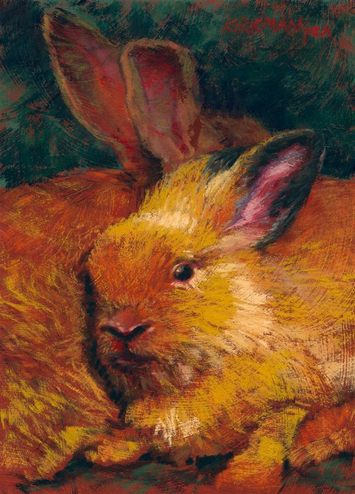 """""""Warm Fuzzies"""" original fine art by Rita Kirkman"""