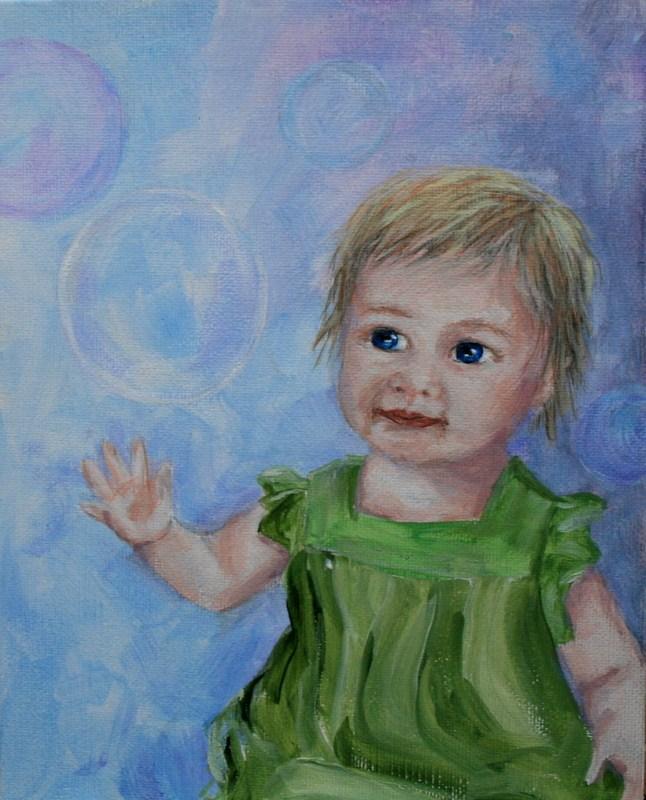 """Catching a Dream"" original fine art by Jean Nelson"