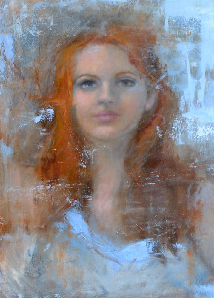 """""""Galaxy"""" original fine art by Kelly Berkey"""