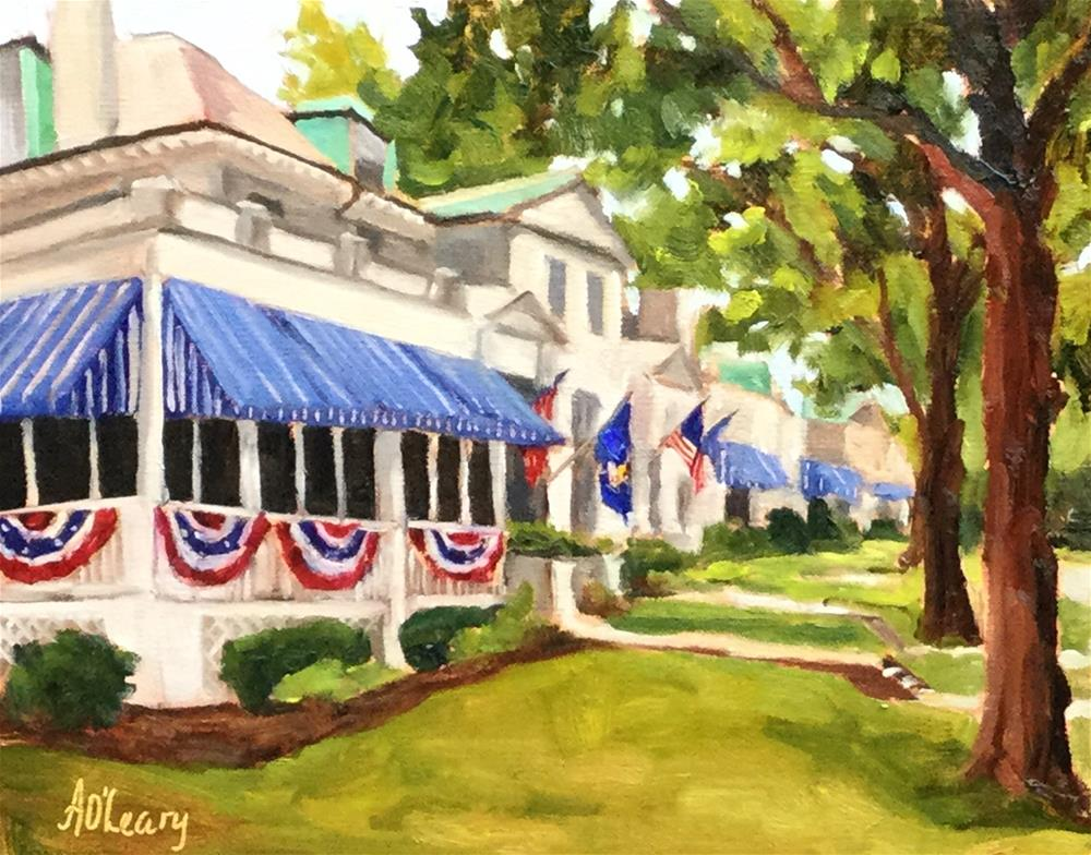 """""""Annapolis Bunting"""" original fine art by Alice O'Leary"""