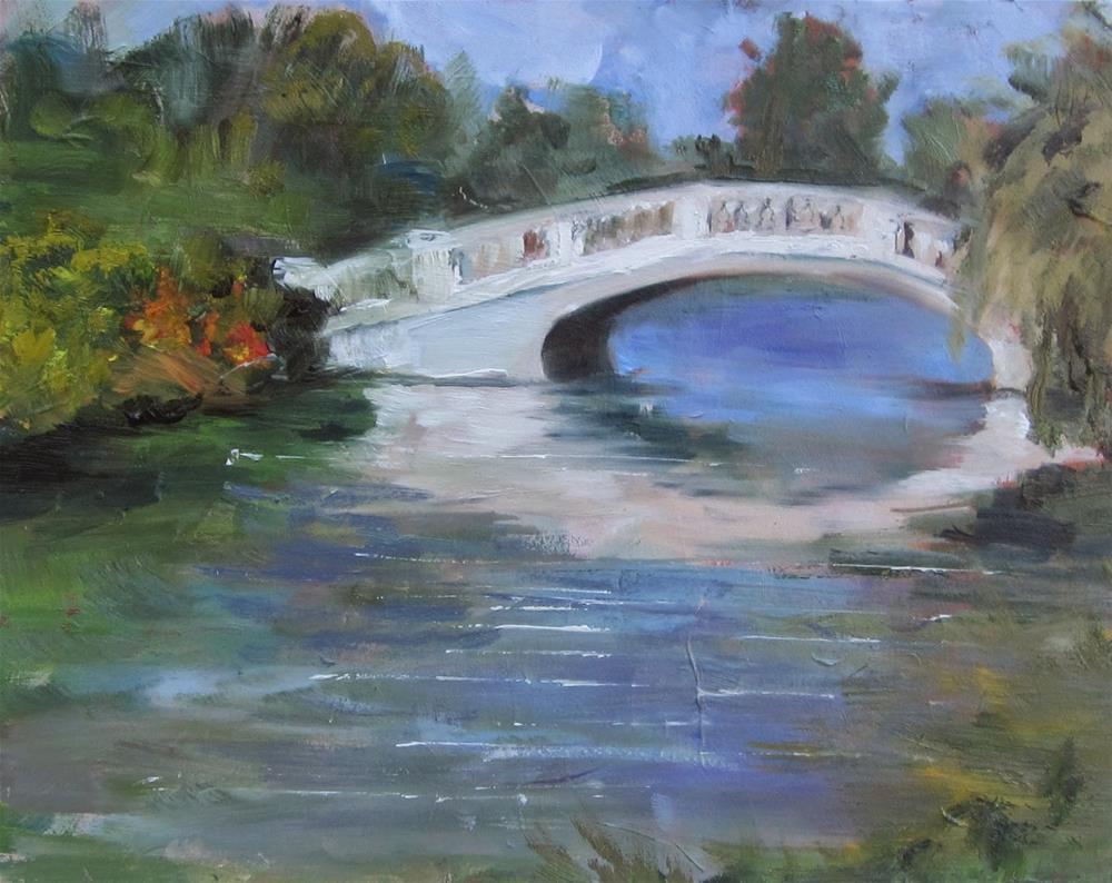 """Grand Basin plein air"" original fine art by Sandy Haynes"