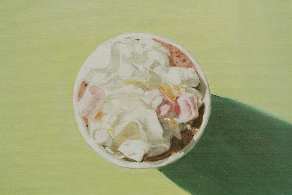 """Hot Chocolate"" original fine art by James Coates"