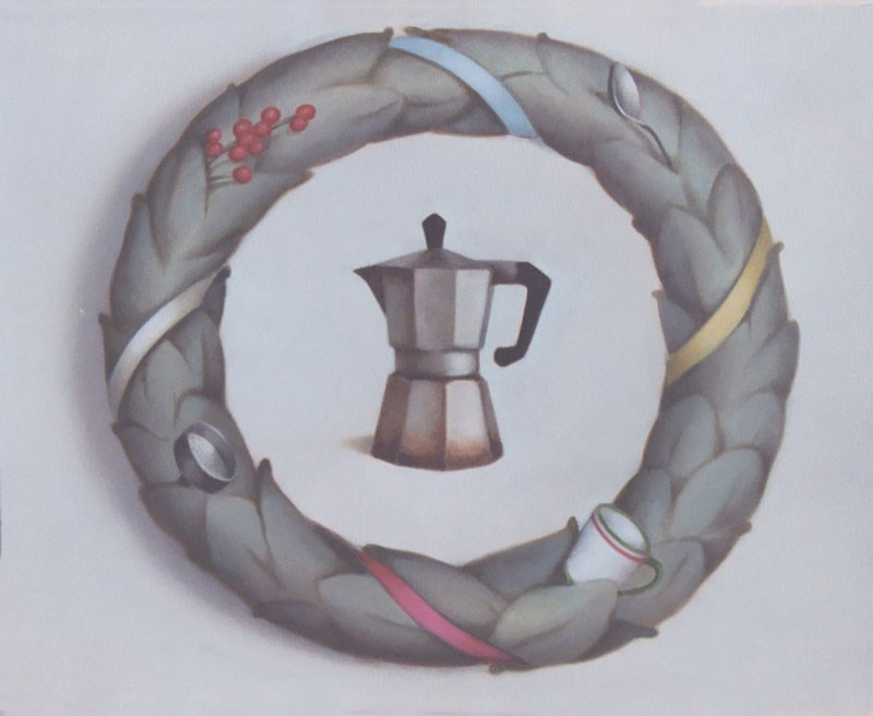 """Homage to Coffee"" original fine art by Megan Schembre"