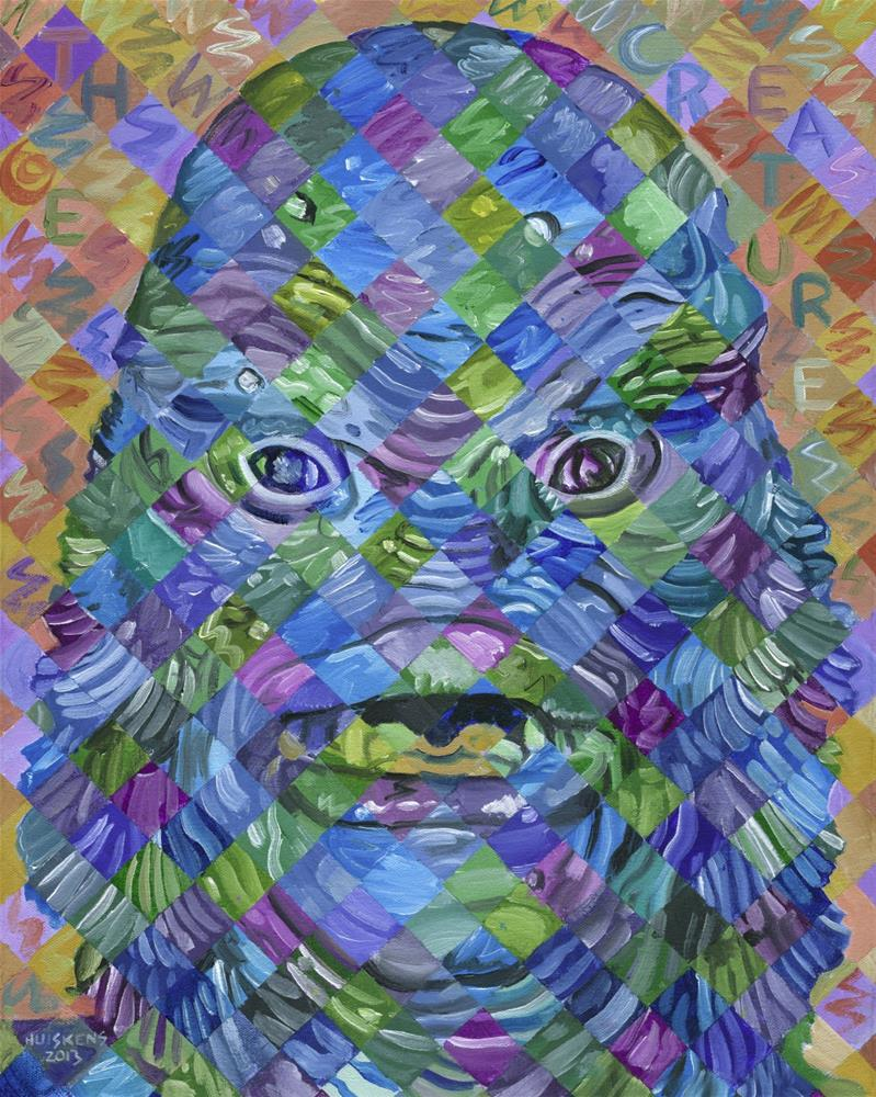 """""""The Creature From The Black Lagoon"""" original fine art by Randal Huiskens"""