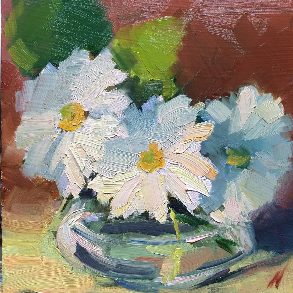 """Daisies"" original fine art by Naomi Bautista"